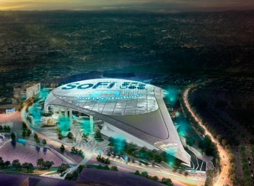 SoFi Stadium (Los Angeles Rams and Chargers)