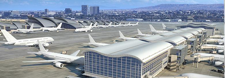 LAX Midfield Satellite Concourse North (DESIGN-BUILD)